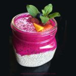 Dragon Fruit Chia Seed Pudding ~ Breakfast Parfait